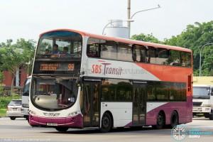 SBS Transit Volvo B9TL Wright (SBS7611S) - Service 99