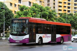 SBS Transit Scania K230UB (SBS8068D) - Service 258