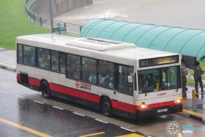 SMRT Scania L113CRL (ΕΛΒΟ) (TIB841Y) - Service 187