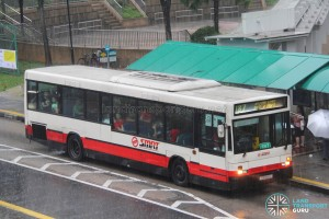 SMRT Scania L113CRL (ΕΛΒΟ) (TIB846J) - Service 187