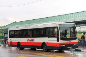 SMRT Hino HS3KRKK (TIB947B) - Service 925