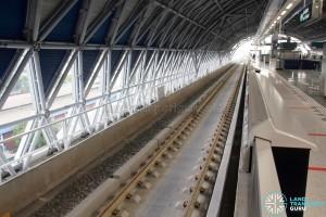 Gul Circle MRT Station - Unused Platform (Upper level)