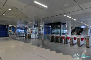 Gul Circle MRT Station - Faregates & PSC