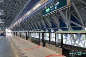 Gul Circle MRT Station - Platform B (Upper Platform, trains to Tuas Link)