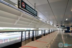 Gul Circle MRT Station - Platform C (Lower Platform, no train service)