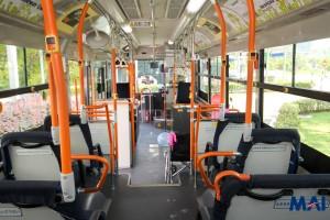 Hino Hybrid Bus - Interior