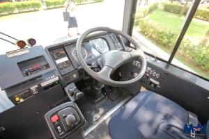 Hino Hybrid Bus - Drivers' Cab