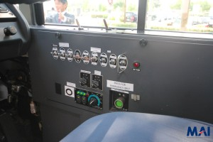 Hino Hybrid Bus - Side switches