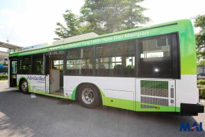 Hino Hybrid Bus - Nearside