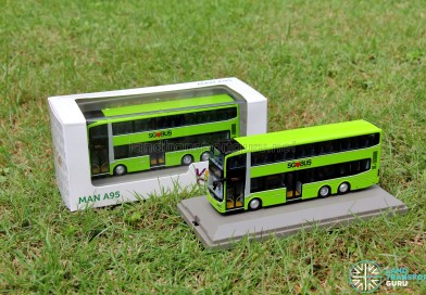 MAN A95 bus models launched by Knackstop