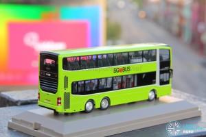 Knackstop MAN A95 bus model - Rear offside
