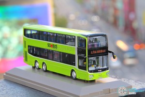 Knackstop MAN A95 bus model - Front offside