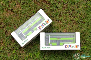 Knackstop MAN A95 bus model - Original packaging