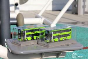 Knackstop MAN A95 bus model - In display case