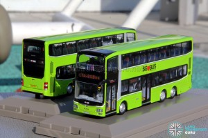 Knackstop MAN A95 bus model - Front and Rear