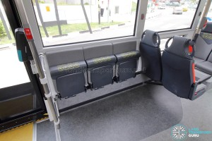 MAN Lion's City SD 3-Door (SG4002G) - Foldable seats (Stowed)