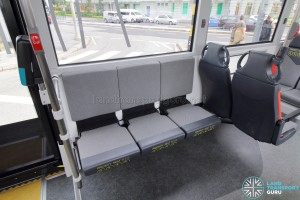 MAN Lion's City SD 3-Door (SG4002G) - Foldable seats (Deployed)
