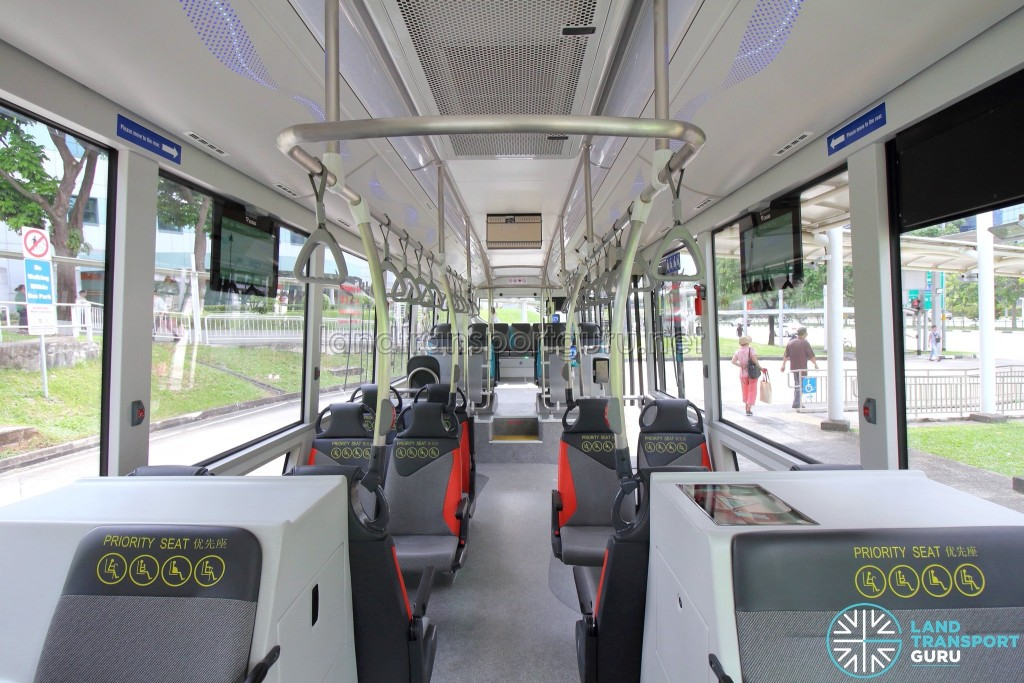 MAN Lion's City SD 3-Door (SG4002G) - Interior (Front to Back)
