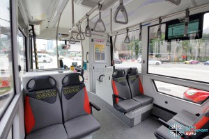 MAN Lion's City SD 3-Door (SG4002G) - Interior (Front section)