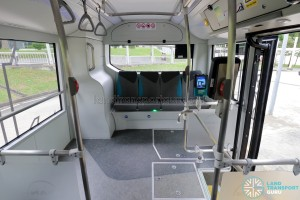 MAN Lion's City SD 3-Door (SG4002G) - Rear standing area