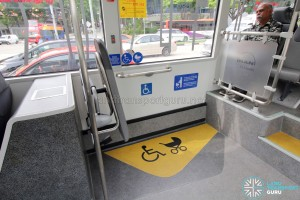 MAN Lion's City SD 3-Door (SG4002G) - Wheelchair Bay