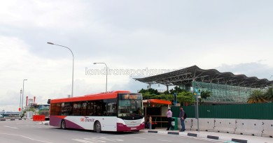 Marina South Pier Bus Terminal (Nov 2011)