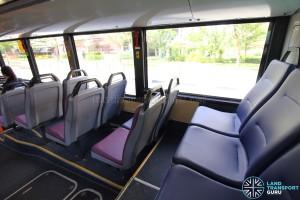 Mercedes-Benz O405G (Hispano Habit) - Rear Cabin - Last row of seats (Vogelsitze System 750/3)