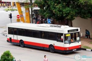 Bus-Plus Dennis Lance UMW (PA715B) - Tampines Retail Park Shuttle (Bedok Route)