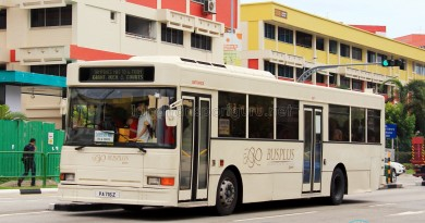 Bus-Plus Dennis Lance UMW (PA716Z) - Tampines Retail Park Shuttle (Tampines Route)