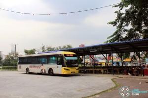 Perling Mall Bus Terminal - Passenger Shelter