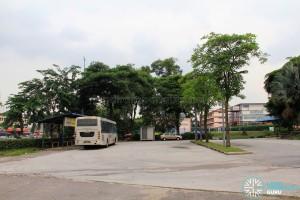 Perling Mall Bus Terminal - Bus Park