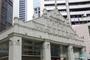 Raffles Place MRT Station - John Little Facade