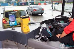 SMB136C: Driver's console