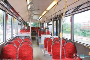 SMB136C: Passenger's interior view