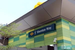 Shenton Way Bus Terminal Sign