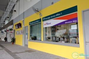 Shenton Way Bus Terminal - Passenger Service Office