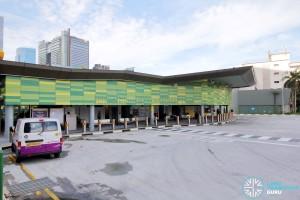 Shenton Way Bus Terminal - Terminal Building