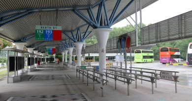 Berth B1, Tuas Bus Terminal