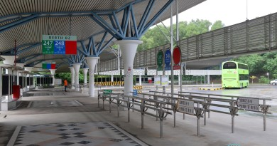 Berth B2, Tuas Bus Terminal