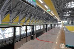 Tuas Crescent MRT Station - Platform A (to Pasir Ris)