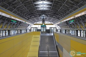 Tuas Crescent MRT Station - Platform level