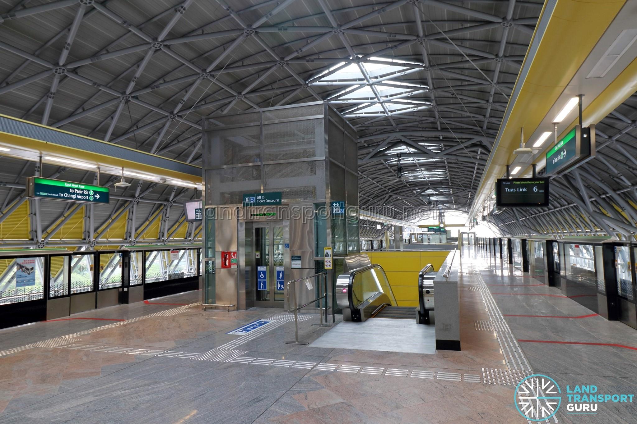 Tuas Crescent Mrt Station Land Transport Guru