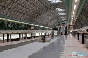 Tuas Link MRT Station - Platform level