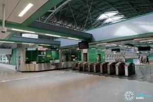 Tuas Link MRT Station - Concourse level PSC & Faregates