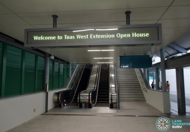 Tuas West Extension Open House on 16 Jun 2017