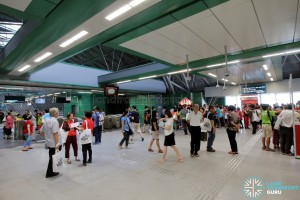 Tuas West Extension Open House - Activities at Tuas Link MRT Station
