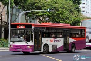 SBS Transit Volvo B10M MkIV DM3500 (SBS2824C) - Service 243
