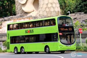 SBS Transit Volvo B9TL Wright (SG5610U) - Service 123