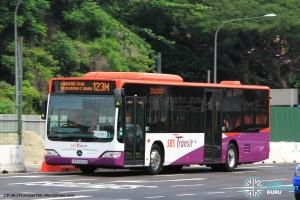 SBS Transit Mercedes-Benz Citaro (SBS6466B) - Service 123M