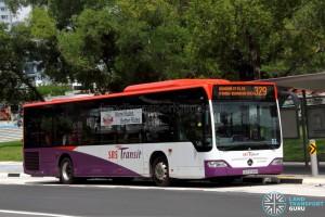 SBS Transit Mercedes-Benz Citaro (SBS6586M) - Service 329